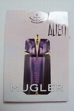 MUGLER *Alien* EdP Parfum Duftkarte Duftprobe Reise Probe Neuheit NEU OVP