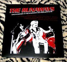 RUNAWAYS Live Starwood '76 LP Color Vinyl Joan Jett Kim Fowley Not TMOQ RARE NEW