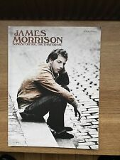 "JAMES MORRISON ""SONGS FOR YOU, TRUTHS FOR ME"" SONGBOOK"