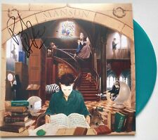 MANSUN - SIX SIGNED DOUBLE GREEN RECORD AUTOGRAPHED