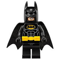 The LEGO Batman Movie BLACK BATMAN Minifigure Split from 70918 (Bagged)