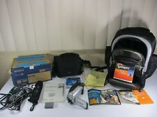 Sony Handycam DCR-DVD92 Camcorder Video Camera w/ Lowepro Travel Backpack