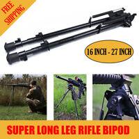 """Xhunter Super Long Leg Shooting Swivel Rifle Gun Bipod w/POD-LOC Pivot 16""""- 27"""""""