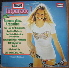 ORCHESTER UDO REICHEL HIT PARADE 6 SEXY CHEESECAKE COVER GERMAN PRESS LP