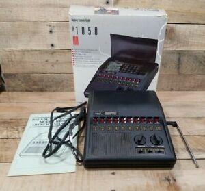 Vintage Regency Model R1050 10 Channel 3 Band Programmable Scanner w/ Manual USA