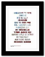 Guns N 'Roses Memorabilia Posters