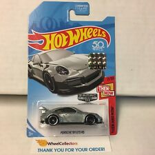 Porsche 911 GT3 RS * ZAMAC * Limited FACTORY SET 2018 Hot Wheels * NF