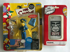 Simpsons Lot of 2 Marge Action Figure Homer Cell Phone Case