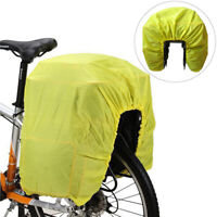 1x Stretch Waterproof Rain Cover for Bike Bicycle Cycling Rear Rack Bag Pannier