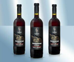 """Rotwein """"Kindzmarauli lieblich 11,5% Вино """"Киндзмараули"""" полусладкое красное"""