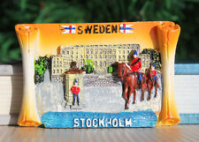 Stockholm City Hall Sweden Souvenir Travel Resin Fridge Magnet