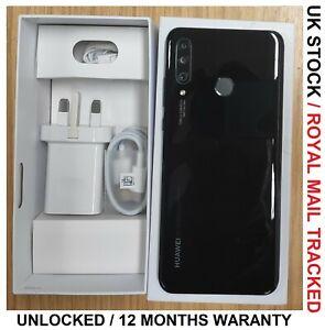 """HUAWEI P30 Lite Black 128GB 6.15"""" 2.2GHz 48MP Cameras Grade A"""