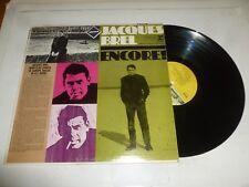 JACQUES BREL - Emcore! - USA 12-track vinyl LP