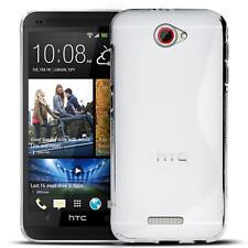 Handy Hülle HTC One X Schutz Case Silikon Cover Tasche Schutzhülle Bumper