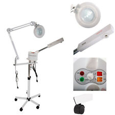 New 2 In 1 Facial Steamer + 5x Magnifying Lamp Ozone Salon Spa Beauty Equipment