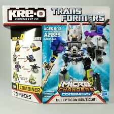 2012 Hasbro KRE-O Transformers BRUTICUS Micro Changers Combiners Figure Set 79pc