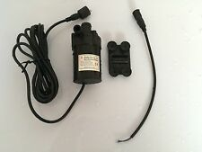 12V Mini Brushless DC Pump 800/800A-H, 600LPH 5M, 14.4W, For Water Circulation