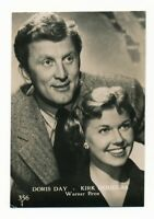 RARE 1950 DORIS DAY & KIRK DOUGLAS Vintage Trading Card YOUNG MAN WITH A HORN