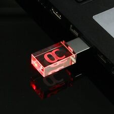 ONCHOICE USB Flash Drive 16GB USB 2.0 Memory Stick LED Waterproof Thumb Drive