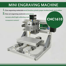 3 Axis CNC Router Mini Wood Bamboo Plastic Carving Machine 1610 Pcb Milling