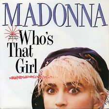 VINYLE 45 TOURS MADONNA WHO'S THAT GIRL 9283417 FRANCE 1987 SINGLE 7