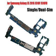 Replacement Motherboard Logic Board Unlock for Samsung Galaxy J5 2016 J510F 16GB