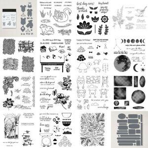 Wörter Etikett Tiere Blumen Stanzschablonen & Stempel Sets für DIY Scrapbooking