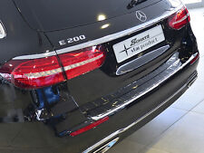 Mercedes W213 E Class Chrome Rear Bumper Protector Estate Kombi Wagon