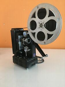 RARE Très beau projecteur 9,5mm Pathé Baby modèle REX COMPLET