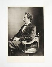 1902 Musik Strauss Richard Komponist Dirigent Porträt Heliogravüre