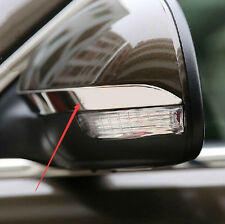 Stainless Rearview mirror shell sequins Trim 2Pcs FitFor VW Tiguan 2010 - 2015