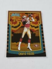 2000 Bowman Gold #200 Chafie Fields SN 66/99