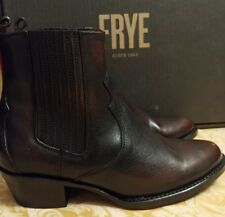 Frye Cognac Leather Diana Chelsea Ankle Boot NIB $298 Size 6