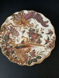 ROYAL CROWN DERBY 'Olde Avesbury' Fluted Dessert Dish 1st Quality c1975 Ex Cond.