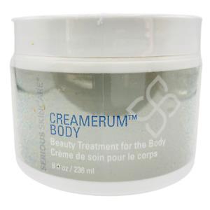 SERIOUS SKIN CARE CREAMERUM BODY BEAUTY CREAM  (Full Size-8oz-Sealed-NWOB)