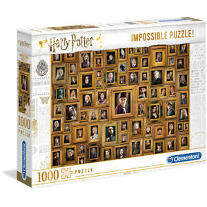 Clementoni Harry Potter Impossible 1000 Piece Jigsaw Puzzle High Quality Age 14+