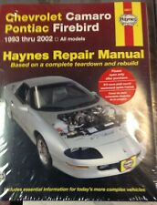 Haynes Repair Manual 24017: Chevrolet Camaro Pontiac Firebird, 1993 Thru 2002