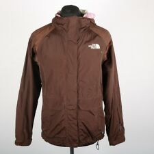 THE NORTH FACE Brown HyVent Jacket | Womens S | Coat Parka Rain Vintage