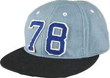 "NEW MENS DIESEL SNAPBACK BLUE BASEBALL CAP ""Citoku"" Peaked Skateboard Golf Hat"