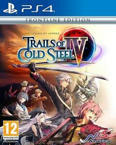 PS4 The Legend Of Heroes Trails Of Cold Steel IV