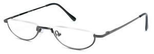 Half Moon Mens Women Vintage Spring Hinge Eyeglasses Reading Glasses +1 +2 +3 +4