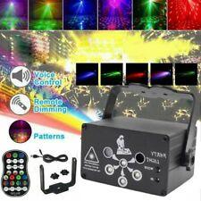 Fern 6-Auge RGB Projektor laser LED Stroboskope DJ Party Bühnenlichter Disko UV6