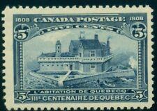 CANADA #99 5c dark blue, og, LH, VF, Scott $75.00