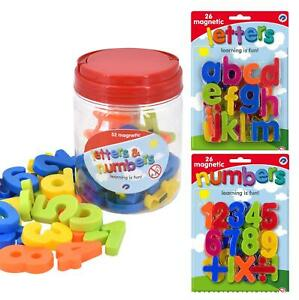 Magnetic Lowercase Letters And Numbers Fridge Magnet Kids Learning Toy