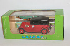 Eligor, 1927 Renault Torpedo Fire Chief Car,  1/43 Scale Diecast, New in Box