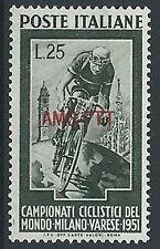 1951 TRIESTE A CICLISMO MH * - ED017
