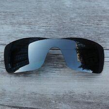 New Black Chrome Black Iridium Polarized  Lenses for-Oakley Batwolf