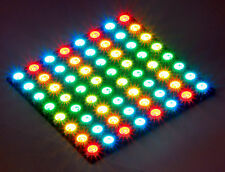 DIGI-DOT PANEL 8X8 HD Matrix  64 ultrahelle RGB LED WS2812 B m.Controller WS2811