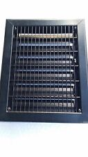 Heavy Metal Floor or Wall Grate With Adjustable Louvers