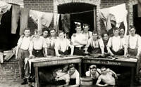 OLD PHOTO French Soldiers Doing Laundry During World War One Circa 1915